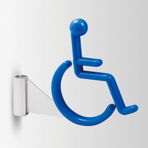 3D160Y-D 3Dピクト 側面型 車椅子 幅198×高160×厚24mm