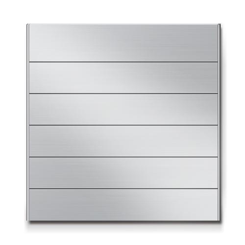 FR300-6段セパレート案内板アルミ型無地幅314×高320×厚15mm
