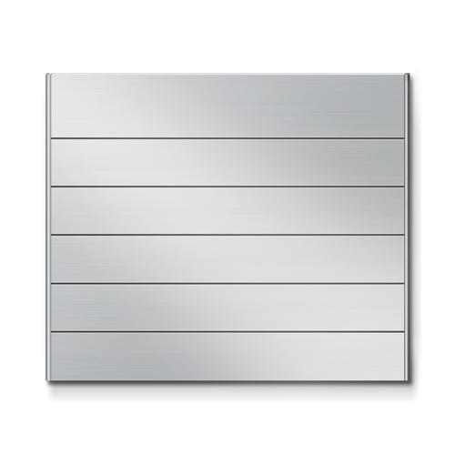 FR450-6段セパレート案内板アルミ型無地幅464×高390×厚15mm