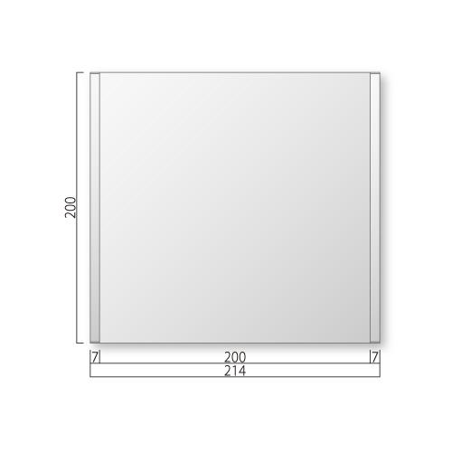 FTR200-Mフリーサイズプレートサイド枠正面型M価格幅214×高200×厚15mm