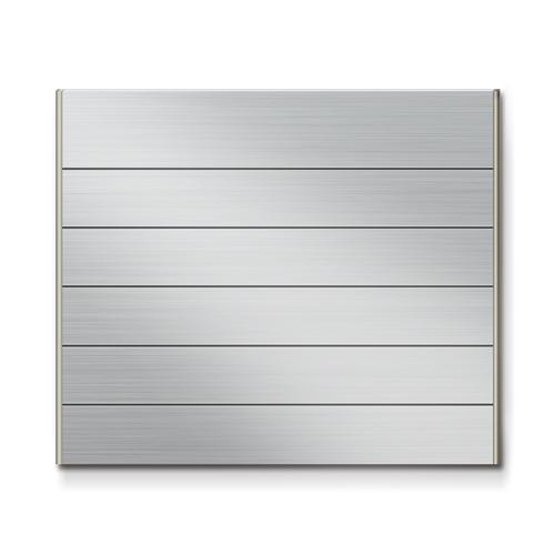 FTS450-6段セパレート案内板ステンレス型無地幅464×高390×厚15mm
