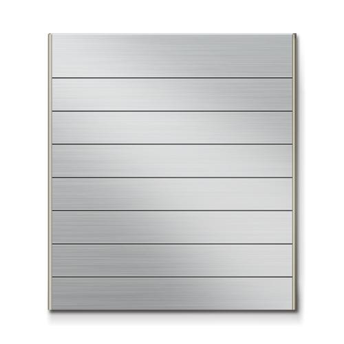 FTS450-8段セパレート案内板ステンレス型無地幅464×高514×厚15mm