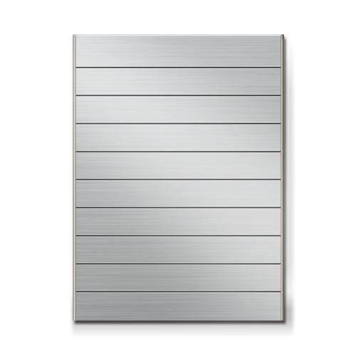 FTS600-10段セパレート案内板ステンレス型無地幅614×高828×厚15mm