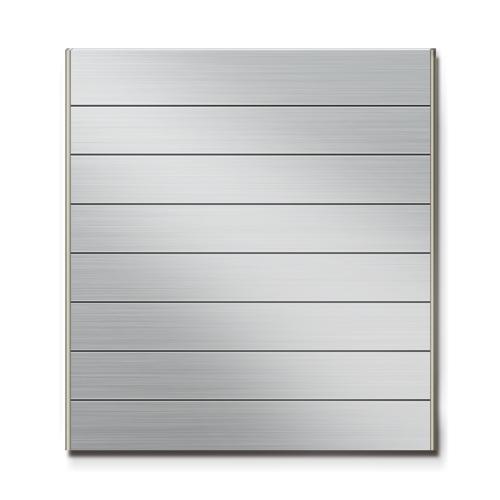 FTS600-8段セパレート案内板ステンレス型無地幅614×高664×厚15mm