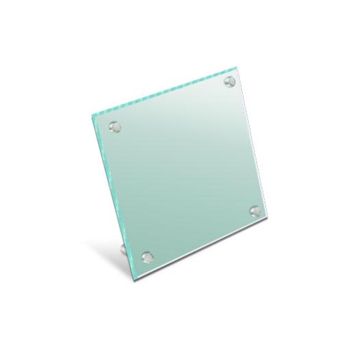 GA150-L-MガラスアクリルカウンターサインM価格幅150×高150mm