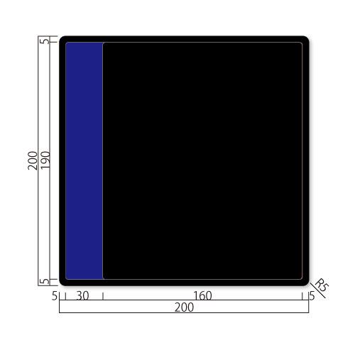 GFS200-Mアクリマットプレート切替表示M価格幅200×高200×厚9mm
