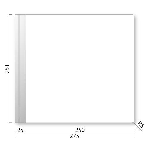 GFY250-M アクリマットプレート 側面型 M価格 幅275×高251×厚27mm