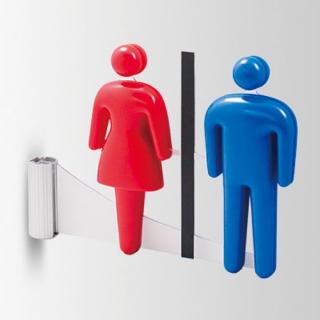 トイレ表示 3Dピクト側面型