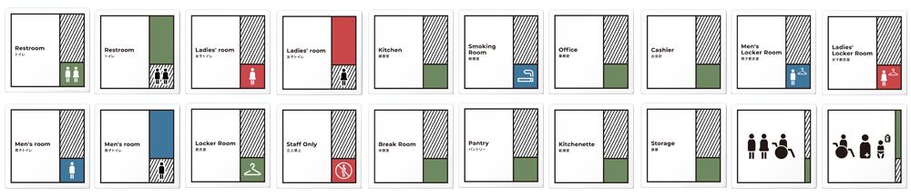 デザイナープレート Block 正方形