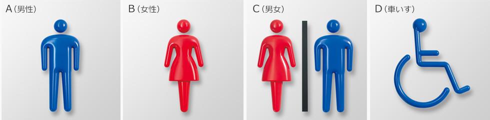 3Dピクト正面型のピクトの種類