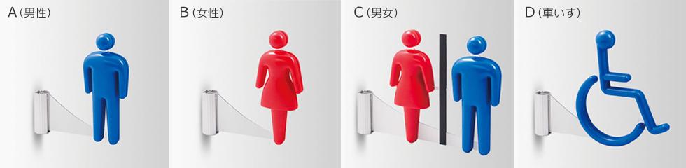 3Dピクト側面型のピクトの種類