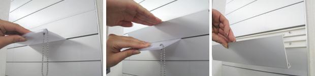 FTS・FR案内板の表示基板の取り外し方法