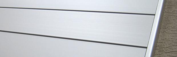 FR案内板の表示基板とフレーム