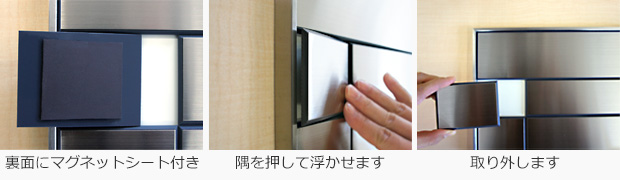 SF案内板のSF案内板の表示基板の取り外し方法