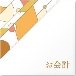 アパレル向け お会計 アクリル/正方形