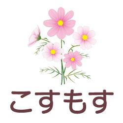 こすもすのピクトサイン 花/植物のピクト