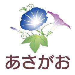 あさがおのピクトサイン 花/植物のピクト