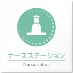 病院向け ナースステーション アクリル/正方形