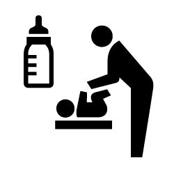 授乳室のピクトサイン 定番ピクト