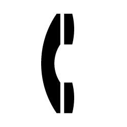 電話のピクトサイン 定番ピクト