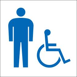 男子・多目的トイレのピクトサイン 定番ピクト