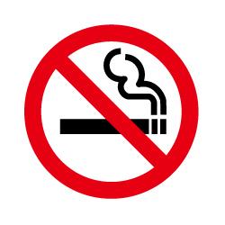禁煙のピクトサイン