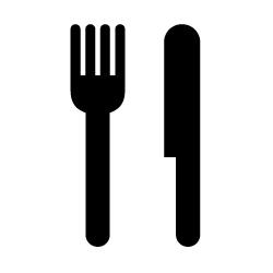 レストランのピクトサイン