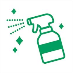 消毒・清掃のピクトサイン コロナ感染対策ピクト