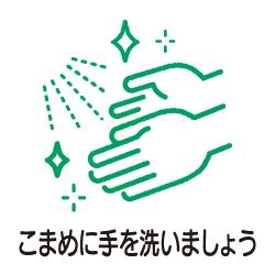 手洗いのピクトサイン コロナ感染対策ピクト