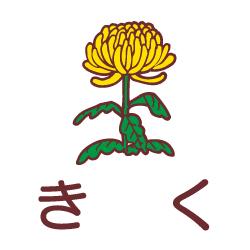きくのピクトサイン 花/植物のピクト