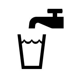 飲料水のピクトサイン 定番ピクト