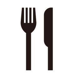 レストランのピクトサイン 定番ピクト