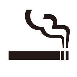 喫煙所のピクトサイン 定番ピクト