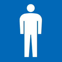 ピクトサイン 男子トイレ