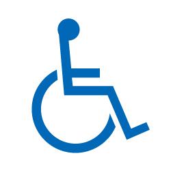 ピクトサイン 身障者用トイレ
