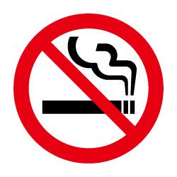 禁煙のピクトサイン 定番ピクト