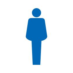 男子トイレのピクトグラム